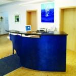 Empfang blau _Liebe zum Detail verrät die Form- u Farbgebung der  Blende. Wie so oft sin es die vermeintlichen Kleinigkeiten