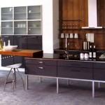 Küche avantgard_freistehend in Buche