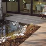 Terrasse _ Holzboden im Aussenbereich (Holz heizt sich nicht so stark auf und wird nie so kalt empfunden wie Stein -Wärmeleitfähigkeit-)